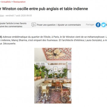Le Sir Winston oscille entre pub anglais et table indienne