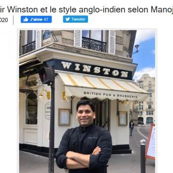Paris 16e : Sir Winston et le style anglo-indien selon Manoj Sharma